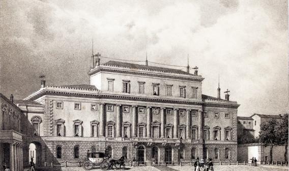 palazzo di residenza di sua maestà in parma